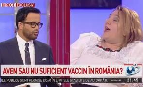 """Diana Șoșoacă, răspuns pentru Mihai Gâdea după ce a parasit emisiunea: """"A opri adevărul, dictatorial, nu are legătură cu democrația!"""""""