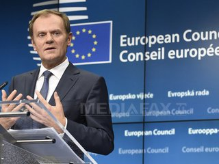 Donald Tusk a fost reales în funcţia de preşedinte al Consiliului European