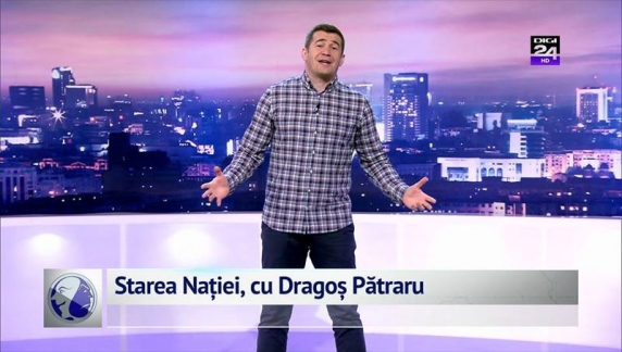 Dragos Patraru, in direct: Desi mai aveam doi ani de contract cu Digi 24, cred ca ne vom desparti aici