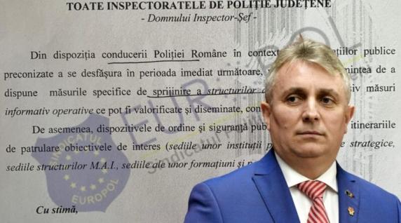 Europol acuză: Poliția Română este folosită ca organ de represiune în funcție de influențele politice