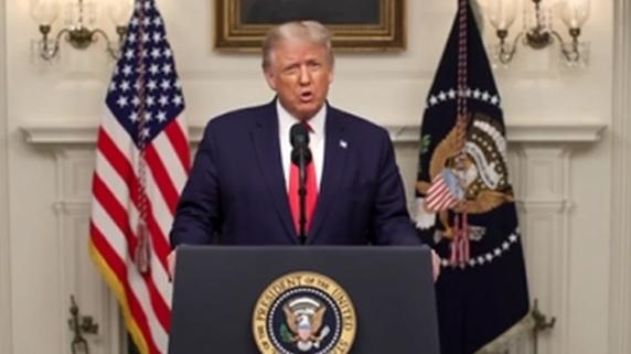 """Gafă monumentală făcută de Donald Trump în campania electorală: """"Îmi place foarte mult de prim-ministrul Macron"""""""