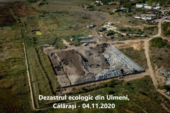 Garda Națională de Mediu protejeaza crimele de mediu de la Ulmeni-Călărași în plină pandemie de Covid-19