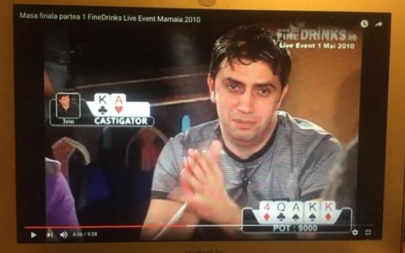 """Gelu Diaconu publică o poză cu fostul şef al ANAF jucând poker: """"Când ai gambling-ul în sânge e clar că eşti competent să fii mare şef"""""""