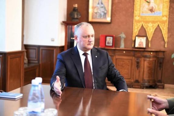 Igor Dodon: O delegație parlamentară va vizita Rusia pentru îmbunătățirea relațiilor