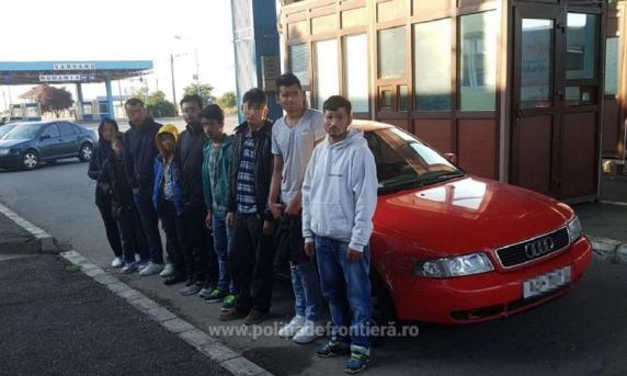 Imigranţi din Irak, la granița României cu Ungaria