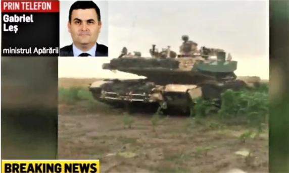 Incident la exercițiul militar Sauber Guardian 19. Ministrul Apărării: Ne asumăm responsabilitatea