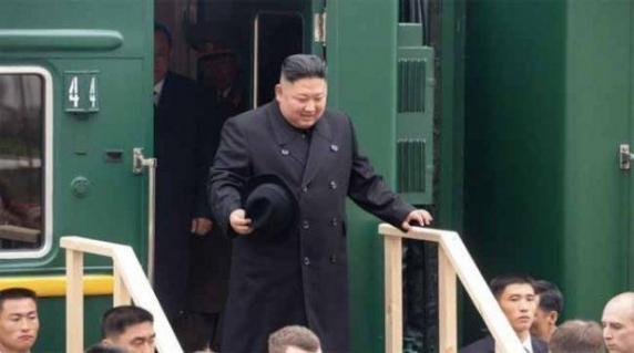 Kim Jong Un a sosit la Vladivostok pentru summitul istoric cu Putin