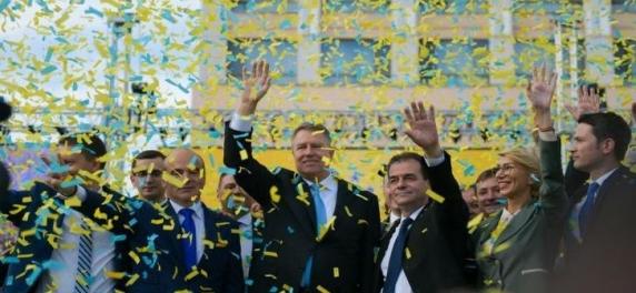 """Klaus Iohannis: """"Pe 26 mai, mergem la vot sa aratam lumii ca suntem un neam de oameni cinstiți, nu de hoti!"""""""