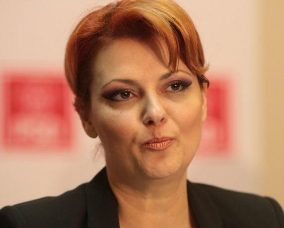 """Lia Olguţa Vasilescu: """"Legea salarizării se va aplica de la 1 iulie"""""""