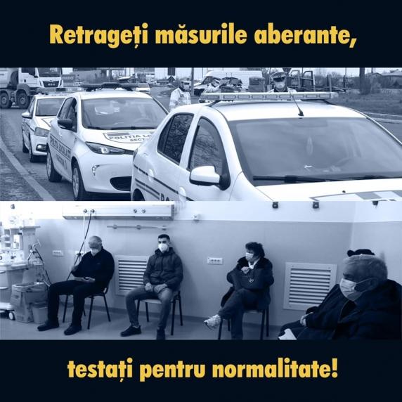 Marcel Ciolacu: Retrageţi măsurile aberante testaţi pentru normalitate! PSD cere Guvernului să renunţe la restricţiile anti-Covid