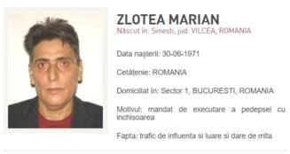Marian Zlotea e dat in urmarire dupa ce a disparut inainte de pronuntarea sentintei prin care a fost condamnat definitiv la inchisoare