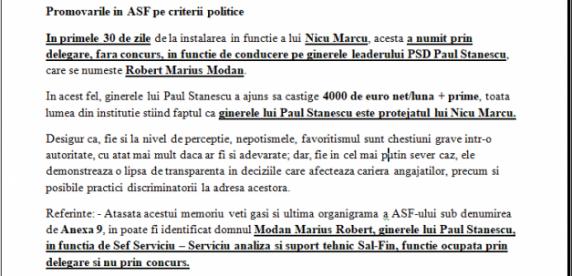 Neregulile de la ASF: rude ale unor lideri PSD angajate fără concurs pe salarii de peste 4.000 euro/lună