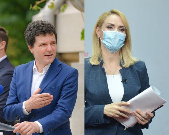 Nicuşor Dan o dă în judecată pe Gabriela Firea pentru calomnie, după episodul cu înregistrarea audio difuzată de Dana Budeanu