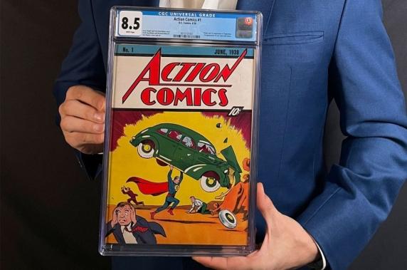 Nou record pentru cea mai scumpă carte de benzi desenate vândută vreodată