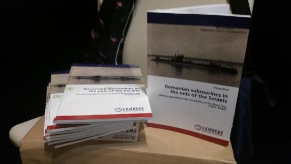O editura de prestigiu din Germania publica una din cartile lui Florian Bichir: Romanian Submarines in the nets of the Soviets