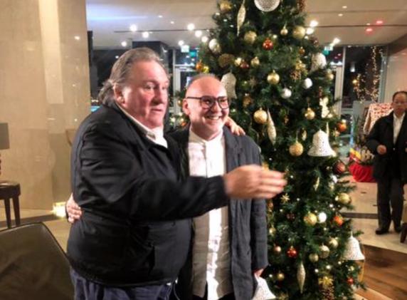 Octavian Hoandră, interviu spectaculos cu Gerard Depardieu! Marele artist francez a sosit în România pentru un spectacol grandios