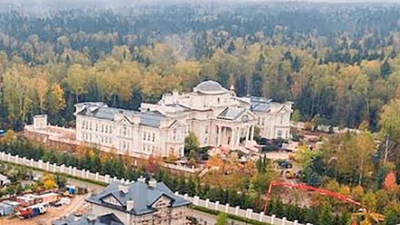 Palatul secret al lui Putin, care e de două ori mai mare decât Palatul Buckingham, a costat aproape 300 milioane de dolari