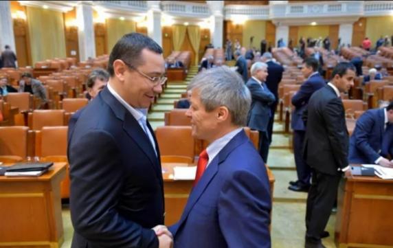 "Ponta și Cioloș au batut palma sa repete Scenariul ""Diaspora"""