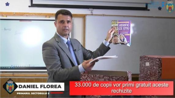 Primăria Sectorului 5, condusă de Daniel Florea, a dat într-o zi, prin achiziție directă, 198 contracte, în valoare de 4,7 milioane lei, către două firme cu un acționar comun