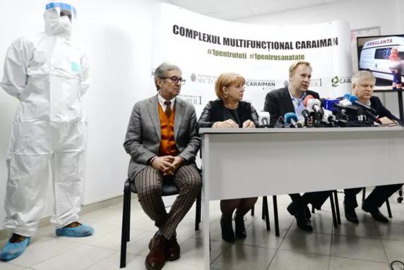 Primarul Sectorului 1, Dan Tudorache, a dat cu vastu' la Caraiman de milioane de euro: holtere EKG, cu dedicație, fără număr, pe motiv de COVID-19!
