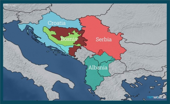 Redesenare a graniţelor în Balcani de catre UE aprinde spiritele: Crearea Serbiei Mari, a Albaniei Mari şi a Croaţiei Mari