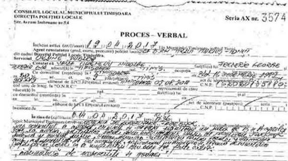Revolutionarul Corneliu Vaida, amendat cu 900 de lei pentru o postare pe Facebook despre Poliția Locală