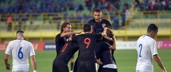 """ROMANIA-CROATIA 4-1 la EURO U21. Vedeta din nationala Croatiei care nu ar spune NU unui transfer la FCSB! """"Da! SPER!"""