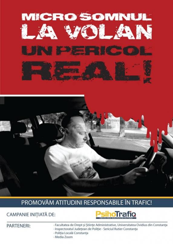 România, locul doi în topul accidentelor auto din U.E. (Micro)Somnul la volan - un pericol real