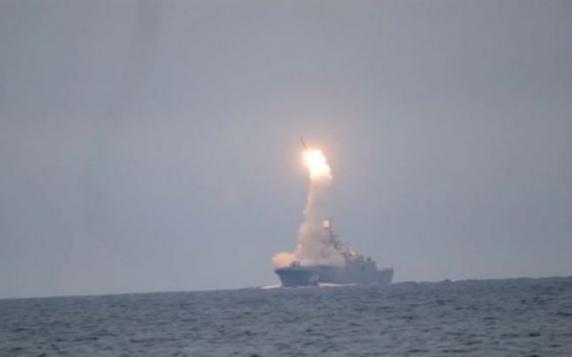 Rusia a testat noua sa rachetă hipersonică Zircon care a zburat cu 7 Mach