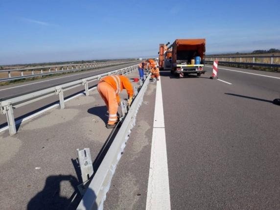 Scenariul realist ne indică 43,28 km noi de autostradă în acest an