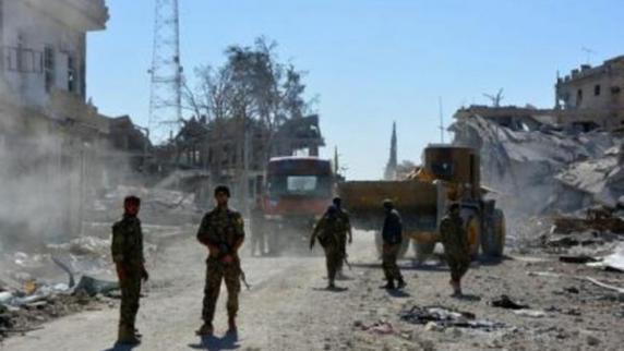 Statul Islamic a fost învins în Siria, proclamă forțele locale sprijinite de SUA