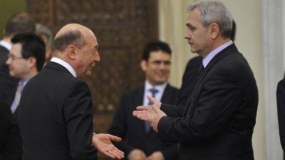 """Traian Basescu: """"Nu exclud posibilitatea ca Dragnea să fie achitat"""""""