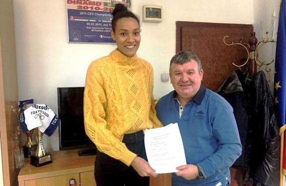 Transfer de senzatie la Dinamo! Marian Stefan o aduce pe Nneka Onyejekwe la echipa de volei feminin a clubului