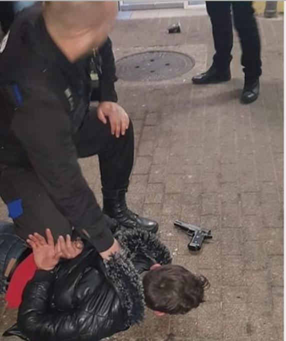 Un bărbat înarmat a amenințat medici de la Spitalul Județean Constanța