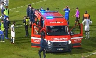 Un fotbalist, la un pas de moarte pe teren. Medicii s-au luptat minute in sir sa-i salveze viața