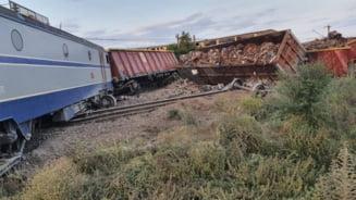 Un mecanic implicat în accidentul feroviar de la Fetești era beat și a adormit. Sistemul de frânare automată a trenului era defect