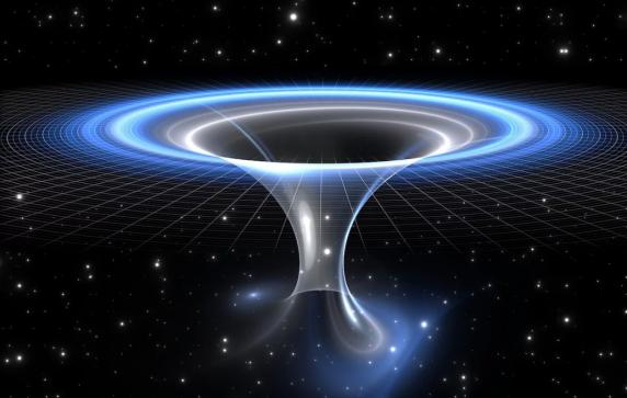 Un wormhole in centrul galaxiei noastre: catre o alta galxie sau un alt Univers?