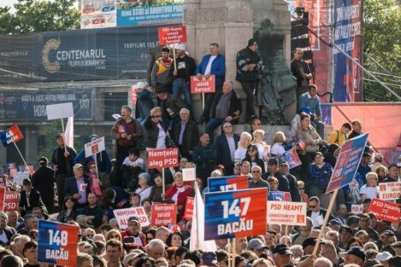 USR depune plângere penală împotriva unei firme de transport public din cauza mitingului PSD de la Iaşi