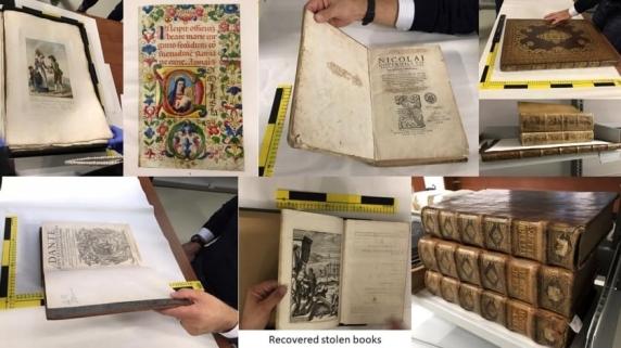 Vanity Fair: Povestea jafului cartilor rare din Londra furate de o banda de romani si gasite intr-un subsol din Piatra-Neamt