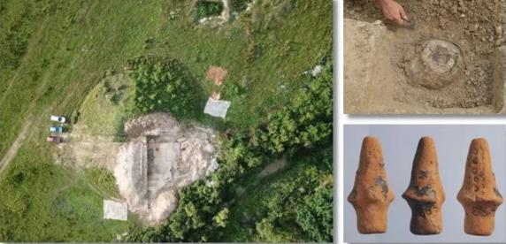 Vase cu cenusa unor cadavre incinerate, descoperite de arheologi in Timis, chiar in celebrele Gramurade