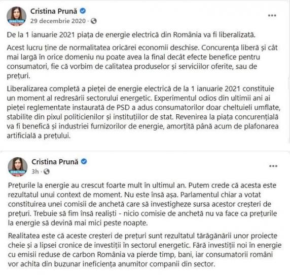 Victor Ponta: Ipocrizia USR pe tema Crizei Energetice n-are limite dar nici solutii!