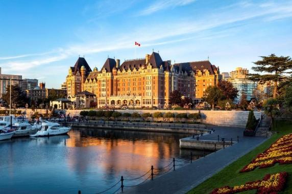 VICTORIA - posibila reşedinţa canadiană a cuplului Harry şi Meghan