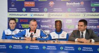 Volei: CSM Târgovişte poate ajunge în optimile Challenge Cup