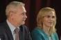 Întâlnire între Liviu Dragnea şi Gabriela Firea, inainte de Biroul Politic PSD