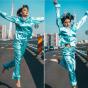Adelina Pestritu a dansat in pijama pe Podul Basarab de 8 martie