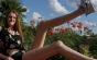 Cele mai lungi picioare din lume: O texancă de 17 ani a intrat în Cartea Recordurilor cu lungimea de 135 cm a membrelor inferioare