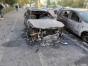Cinci mașini incendiate de un piroman într-o parcare din Galati