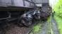 Circulaţie feroviară oprită în Caraş-Severin după deraiarea unui tren marfar