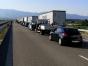 """Cozi de kilometri la singurul punct de trecere a frontierei din Bulgaria în Grecia: """"Înaintăm încet, pe o singură coloană"""""""