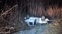 Doi poliţişti răniţi după ce s-au răsturnat cu maşina în timpul unei misiuni